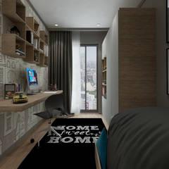 50GR Mimarlık – Cadde varlık_2+1 örnek daire : modern tarz Çocuk Odası