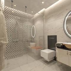 50GR Mimarlık – Emre Çolak evi: modern tarz Banyo