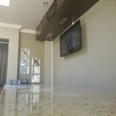Bar Sound and Dstv setup:  Patios by Rounded Pixels Media