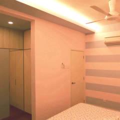 tropische Schlafzimmer von inDfinity Design (M) SDN BHD