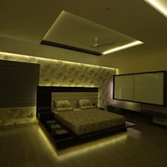 master bedroom:  Bedroom by Hasta architects