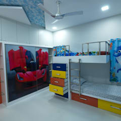 Nursery/kid's room by Hasta architects