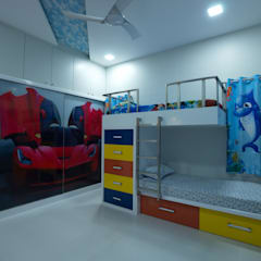 Nursery/kid's room by Hasta architects, Modern