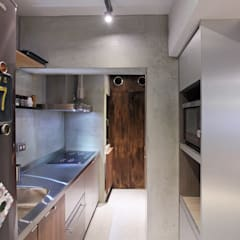 2014衛武營公寓好宅 - Apartment:  置入式廚房 by 森畊空間設計