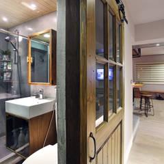 2014衛武營公寓好宅 - Apartment:  浴室 by 森畊空間設計