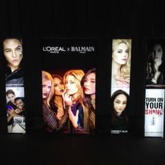 Boran Reklam – Çerçevesiz Tekstil Led Box:  tarz Alışveriş Merkezleri