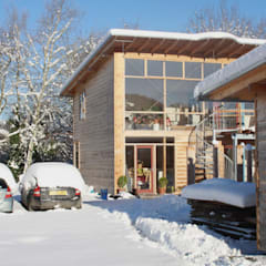 Passive Solar Workshop & House:  Passive house by David Colwell Design