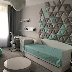modern Nursery/kid's room by DAPPI