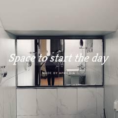 부여 석동리 전원주택 / 1F: 에이프릴디아의  욕실
