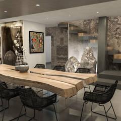 غرفة السفرة تنفيذ studiosagitair, تبسيطي