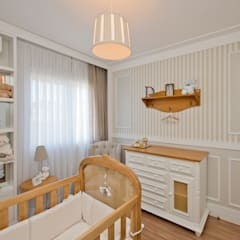 ห้องนอนเด็ก by Espaço do Traço arquitetura