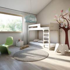 Kinderzimmer: moderne Kinderzimmer von winhard 3D