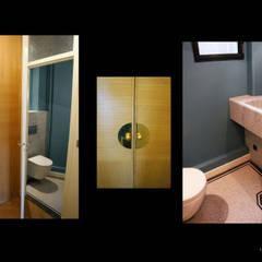 appartement QDO: Couloir et hall d'entrée de style  par Laure van Gaver