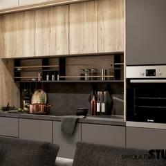 JAPOŃSKIE INSPIRACJE: styl , w kategorii Kuchnia zaprojektowany przez MIKOŁAJSKAstudio