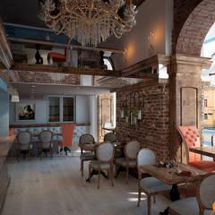 Основной зал ресторана - дизайн horeca: Коммерческие помещения в . Автор – Art-i-Chok
