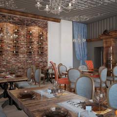 Идеи дизайна уютного интерьера ресторана: Коммерческие помещения в . Автор – Art-i-Chok