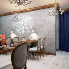 Стены с росписью - интерьер ресторана: Коммерческие помещения в . Автор – Art-i-Chok