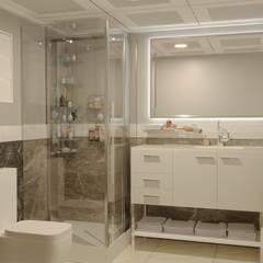 Minel Mimarlık Yapı Mühendislik İnşaat Sanayi Ticaret Limited Şirketi – Banyo:  tarz Banyo