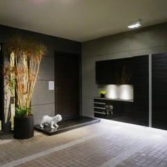 Garage/shed by 沐築空間設計