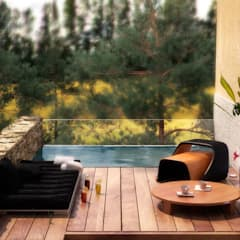 Infinity pool by AVANTUM, Scandinavian