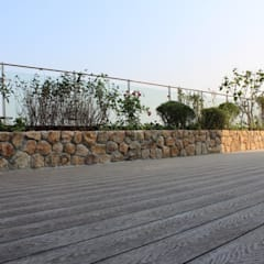 옥상정원_반포 아크로빌 펜트하우스 옥상 정원 프로젝트: (주)더숲의  정원