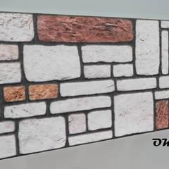 ODAK DIŞ TİC – STRAFOR 3D PANEL TAŞ MODELİ:  tarz Duvarlar