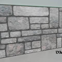ODAK DIŞ TİC – STRAFOR 3D PANEL TAŞ MODELİ:  tarz Duvarlar,
