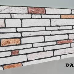 ODAK DIŞ TİC – STRAFOR 3D PANEL KESME TAŞ MODELİ:  tarz Duvarlar