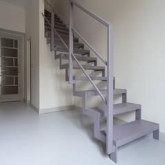 Casa U+M: '800 reloaded: Scale in stile  di Architetto Francesco Franchini