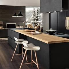 Proyecto de diseño interior y mobiliario: Cocinas de estilo  por Felipe Lara &  Cía
