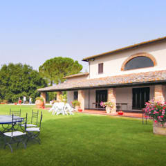 كوخ حديقة تنفيذ Morelli & Ruggeri Architetti