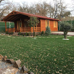 KAYALAR AHŞAP KERESTE ÜRÜNLERİ – Ahşap bungalov kütük ev:  tarz Ahşap ev