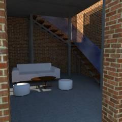 Planta Baja : Escaleras de estilo  por Arq. Melisa Cavallo