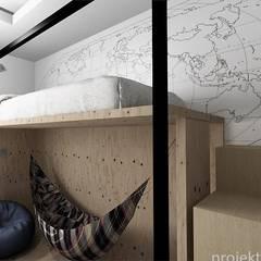 Dormitorios infantiles de estilo  por Projektownia Marzena Dąbrowska