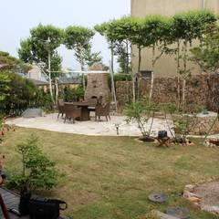 주택정원_경기도 용인 동천동 단독주택 정원 프로젝트: (주)더숲의  정원