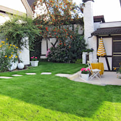 Casetas de jardín de estilo  por RAUCH Gaten- und Landschaftsbau GbR