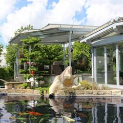 Conservatory by RAUCH Gaten- und Landschaftsbau GbR, Asian