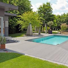 Eine Gartenanlage, verschiedene Gartenstile.:  Gartenpool von RAUCH Gaten- und Landschaftsbau GbR