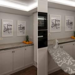 Reforma integral en Neguri: Cocinas de estilo  de Gumuzio&PRADA diseño e interiorismo
