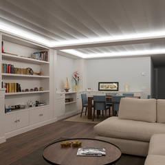 Living room by Gumuzio&PRADA diseño e interiorismo