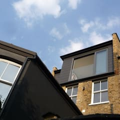 Loft Conversion:  Terrace house by A2studio