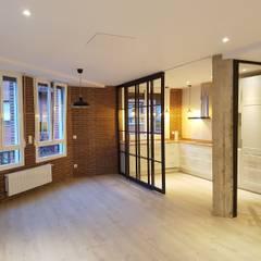 غرفة المعيشة تنفيذ Gumuzio&PRADA diseño e interiorismo