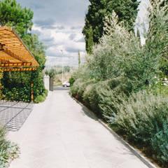 Garajes abiertos de estilo  por Morelli & Ruggeri Architetti