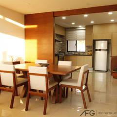 Comedor / Cocina: Comedores de estilo  por AFG Construcción y Diseño