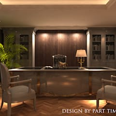 辦公大樓 by PART TIME DECORATION&DESIGN&ART