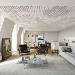 Unique Chiado Lisboa: Hotéis  por VPVA - 3D/ArchViz  and Architecture