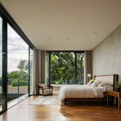 臥室 by Tamara Wibowo Architects