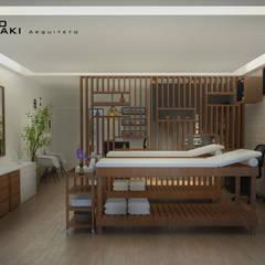 Clinica Estética: Spas  por Fabio Mimaki Arquitetura