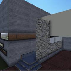 Casa habitación: Casas ecológicas de estilo  por  Alejandra Romero Arquitectura