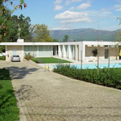 Casa térrea, no Minho por José Melo Ferreira, Arquitecto Moderno